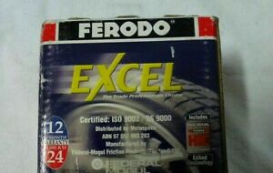 NEW FERODO EXCEL BRAKE PADS DB1352XL -FITS TOYOTA CELICA - FREE AU POST + GIFT