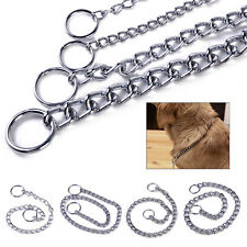 Hund Metall Halskette Kettenhalsband Hundehalsband Halsband Haustier Kette Slip