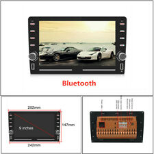 """9""""2.5D Car MP5 Android9.1 GPS Navigation Player Audio Bluetooth HD Touch Screen"""
