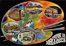Spain Palma de Mallorca (Baleares) Espana Souvenir multiviews, painting palette