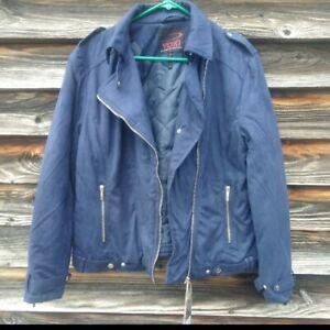 Yoki faux suede size 1X moto jacket. Super Nice!! Original price $99