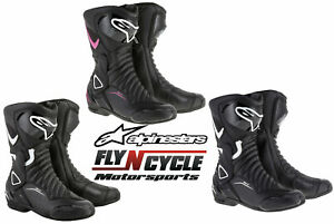 Alpinestars Womens Stella SMX-6 v2 Racing Motorcycle Boots