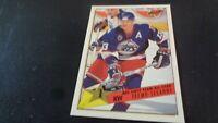 1992-93 Topps Premier Hockey #92 Teemu Selanne - Winnipeg Jets - NR-MT