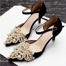 Vestido de novia Rhinestone Decoración Zapatos traje de Cristal Motivo con cuentas apliques de 2 piezas