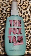 New listing The Fox Tan Australian Rapid Mist 90 ml Speed Up Natural Tanning Process New!
