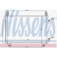 Nissens Kondensator, Klimaanlage Daihatsu . Toyota Yaris 940050