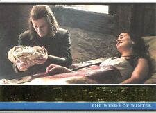 Game Of Thrones Season 6 Gold Base Card #30 The Winds of Winter