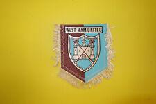ancien fanion football banderin pennant wimpel West Ham united