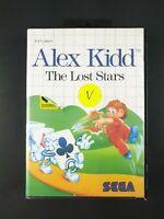 Alex Kidd: The Lost Stars   Sega Master System   PAL   No Manual   Tracked Post