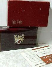 """Lady Elgin Vintage Case 4 x 2 1/2"""" Plus Original Paper Box"""