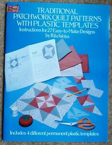 Weiss, Rita-Traditional Patchwork Quilt Patterns With Plastic Templates BOOK NEW