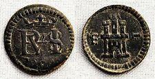 España-Felipe III. 1 Maravedi 1606 Segovia. EBC/XF Cobre 0,7 g. CAL-861 Muy rara