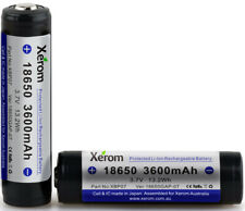 XEROM 18650GAP Li-Ion Rechargeable Battery for MT10/ MH10/ H8R/ F1R/ P7R/ M7R
