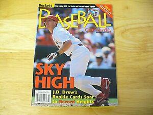 Beckett Baseball Card Monthly Magazine - March 1999 (J.D. Drew) - VINTAGE