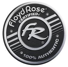 Authentic Original Floyd Rose Non-Fine Tuner Tremolo Kit - Satin Gold, R2 Nut