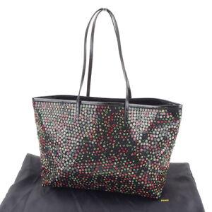Fendi Tote bag Black Woman Authentic Used T3834