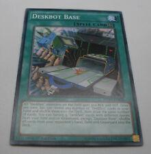 Yu-Gi-Oh Karte - Deskbot Base - Spell Card - grün - Yugioh Neu
