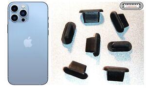 7x tappo antipolvere per porta ricarica iPhone 13, 13 Mini, 13 Pro, 13 Pro Max
