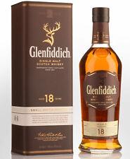 Glenfiddich 18 Year Old Single Malt Scotch Whisky (700ml)