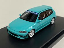 1/64 YM Model Honda Civic EG6 in Tiffany Blue Ltd 500 pcs