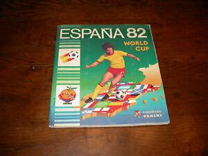 PANINI football World Cup ESPANA 82 album complet full