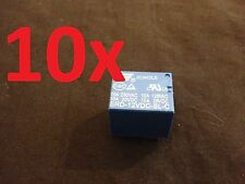 10 Pieces 10A 5 pins SONGLE SRD PCB power Relay SRD-12VDC-SL-C b13