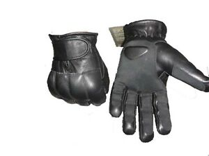 Pure Leather Traditional Lead Tactical Gloves – Doorman Security Defend