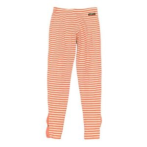 Matilda Jane Friends Forever Zola Leggings Girls Sz  8 Coral Orange Striped Bows