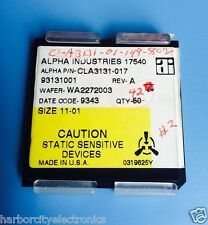 CLA3131-017 ALPHA INDUSTRIES IC WAFER DIE PACKAGE CLA3131-01-149-802 42/units