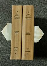 Vintage National Geographic Bound Complete Year 1930