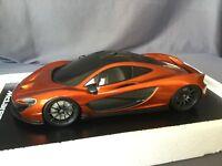 McLAREN P1 ORANGE 2012 - 1:18 TSMMODEL Paris Motor Show