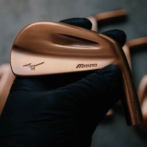 Mizuno MP-67 Rare Yoro Model Custom Copper Finish Iron Heads (4-Pw)