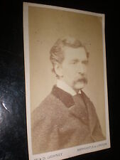 Cdv old photograph actor Edward Askew Sothern by Downey c1870s