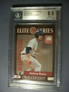 ANTHONY RENDON 2011 Donruss Elite Extra Edition Elite Series #10 BGS NM-MT+ 8.5