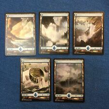 MTG Magic the Gathering Korean Battle for Zendikar Basic Island