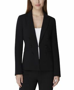 Tahari By ASL Womens Suit Seperate Black Size 8P Petite Blazer Stretch $139 594