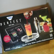 Perfect Drink App-Controlled Cocktail Mixing Wireless Stainless Steel