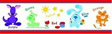 New Blue's Clues Wall Border Kids Decor 12 Feet Pre Pasted Orange Cat & More