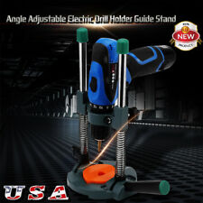 Adjustable Angle  Electric Drill Holder Guide Stand Positioning Bracket Tool Kit