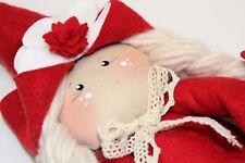 Kit Set Cucito Creativo Pannolenci Materiale Natale Folletto Hobby Fortuna