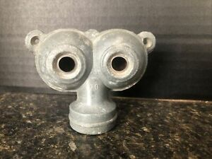 Vintage Thompson Twin No 70 Owl Eyes Galvanized Sprinkler Heads Nice Condition