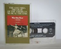 West Side Story Original Broadway Cast Cassette JST 32603