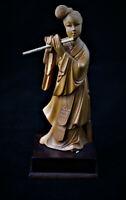 Chine  statuette en bois