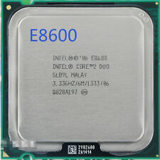 Intel Core 2 Duo, E8600 3.33 GHz, Processor, 6MB Cache 1333MHz LGA775