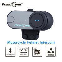 1 km BT Sprechanlage Bluetooth Motorrad Motorrad Helm Gegensprechanlage Headset