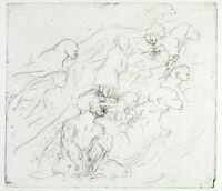 Untitled, 1982 Radierung von Jürgen BORDANOWICZ (*1944 D), handsigniert