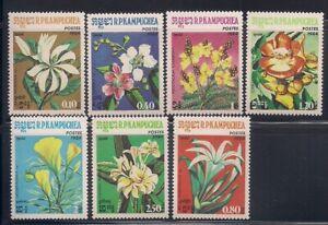 Cambodia   1984   Sc # 511-17   Flowers   MNH   (1116)