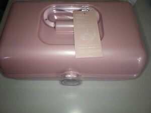 Caboodles On-The-Go Girl Cosmetic Organizer, Millennial Pink Sparkle