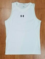 Under Armour Men's Fitted Tank Top White