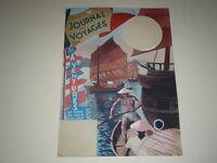 [Drawing Press Bd ] Marcel Thierry Art Cover Gouache Original Along Sampan 1947